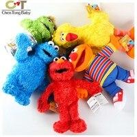 1 pcs Sesame Street Elmo brinquedo de pelúcia Clástico brinquedos de pelúcia altura 33 cm 20160502 WJ01