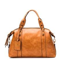 Brand leather women messenger bags fashion women's handbags retro bag ladies bolsa feminina shoulder bag hobo handbag purse tote