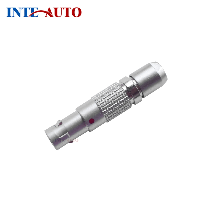M7 mini FGG.00.304 EPG.00.304 China LEMO circular push pull self-locking connector, Plug elbow socket, Size 00, 4 position lemo connectors3 pin plug fgg 1b 302 clad circular metal plug self locking connector lemo connector b series