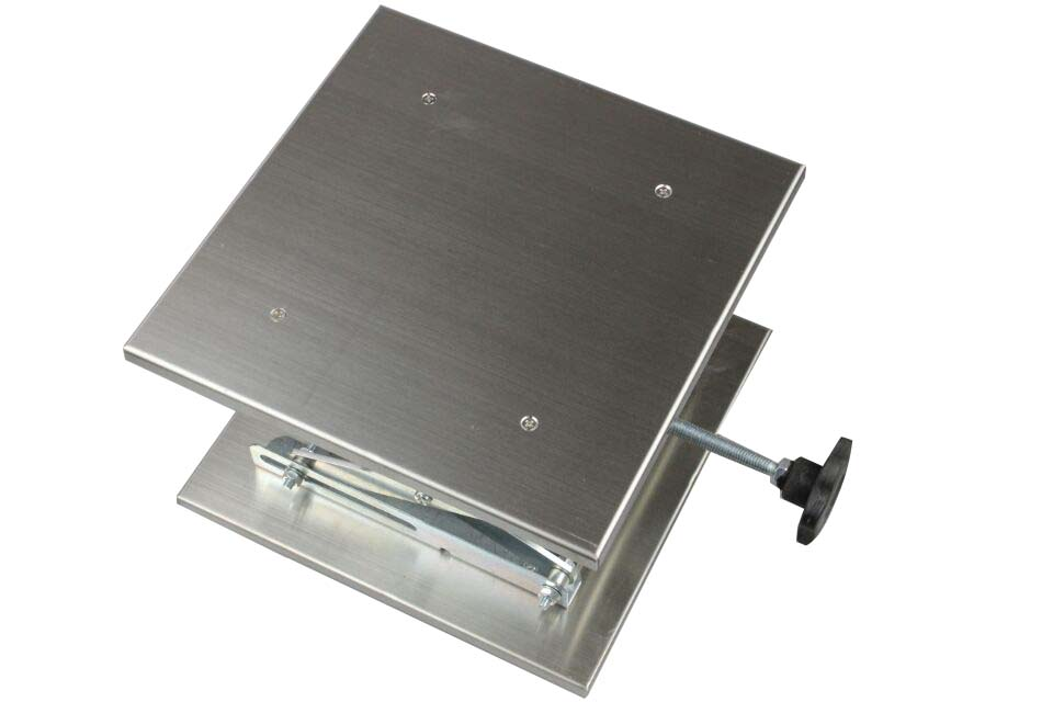 Stainless Steel Aluminum Oxide Lab Lift Stage Manual Lift Platform 250*250mm