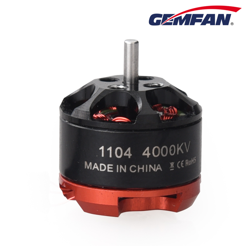 Gemfan 1104 4000KV Motor Brushless CW CCW For Mini FPV Quadcopter Multicopter 100-150 Glass Diatone 150 RC Multirotor Frame Kit lhi fpv 4x mt2206 2300kv cw ccw fpv brushless motor 2 4s 4 pcs racerstar rs20a lite 20a blheli s bb1 2 4s brushless esc
