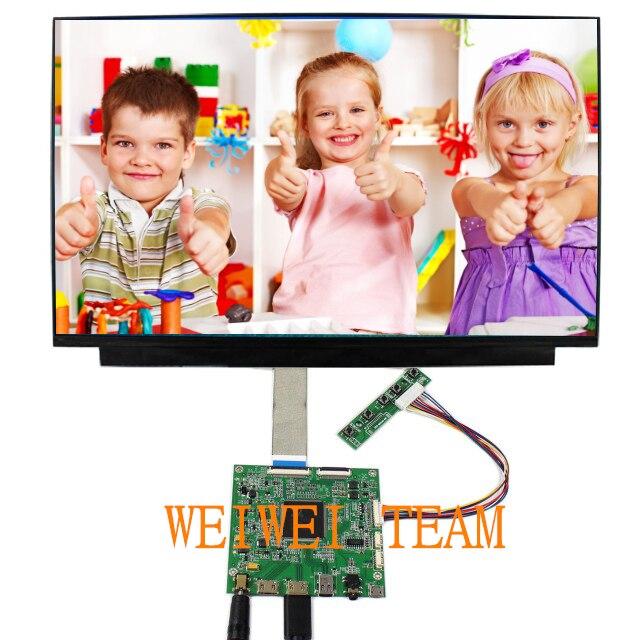 15.6 pouce 3840*2160 4 k UHD IPS Affichage HDMI DP Bord Du Pilote LCD Module Écran Moniteur D'ordinateur Portable PC pour Raspberry pi 3 2 1