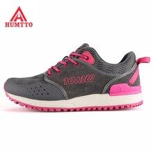 HUMTTO Women's Lightweight Outdoor Hiking Trekking Sneakers Shoes For Women Mesh + Leather Climbing Mountain Shoes Woman 36-40#