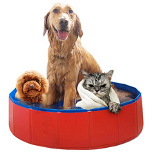 Dog Swimming Pool Foldable Durable portable Cleaner bathtub PVC For Dogs Cats Pet Bath cleaning supplies