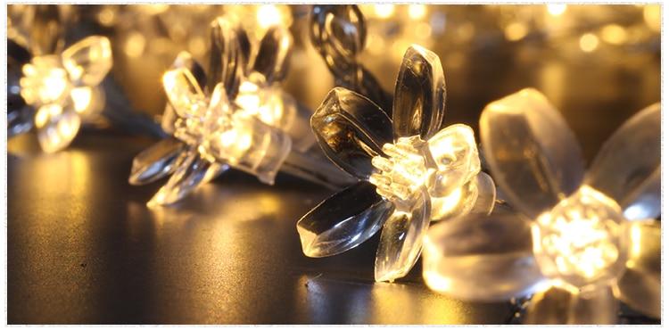 30m 300 Cherry LED Garland string lights fairy christmas lights luces decorativas guirlande lumineuse wedding decoration lamps