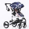 Мода Детская коляска для новорожденных Роскошные обновления детские тележки/детские коляски/детские коляски/bb автомобиль/детские багги