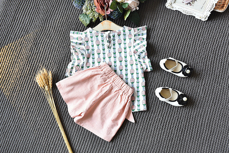 ano meninas roupas de verão crianças casuais