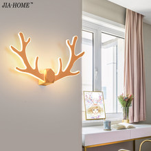 20w creative LED Wall Lamps for bedroom bedside decoration Nordic designer corridor hotel wall lamps wall mounted home fixtures(China)