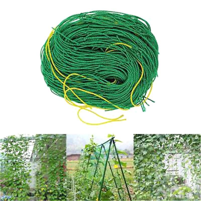2.7x 1.8m Netting Vine And Veggie Trellis Net Plant Climbing Net Plant Support For Climbing Plants Vegetables And Fruitsm