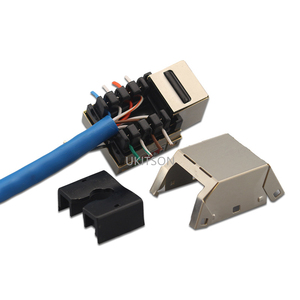 Image 5 - 1 Port CAT 6 RJ45 Ethernet Duvar Kaplaması Ekstrüzyon Tel Soket 86x86mm XBox Ağ LAN Kabloları