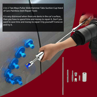 2 in 1 tools 1pcs Slide hammer Car body dent repair tools Paintless dent removal tool glue dent lifter hand tools