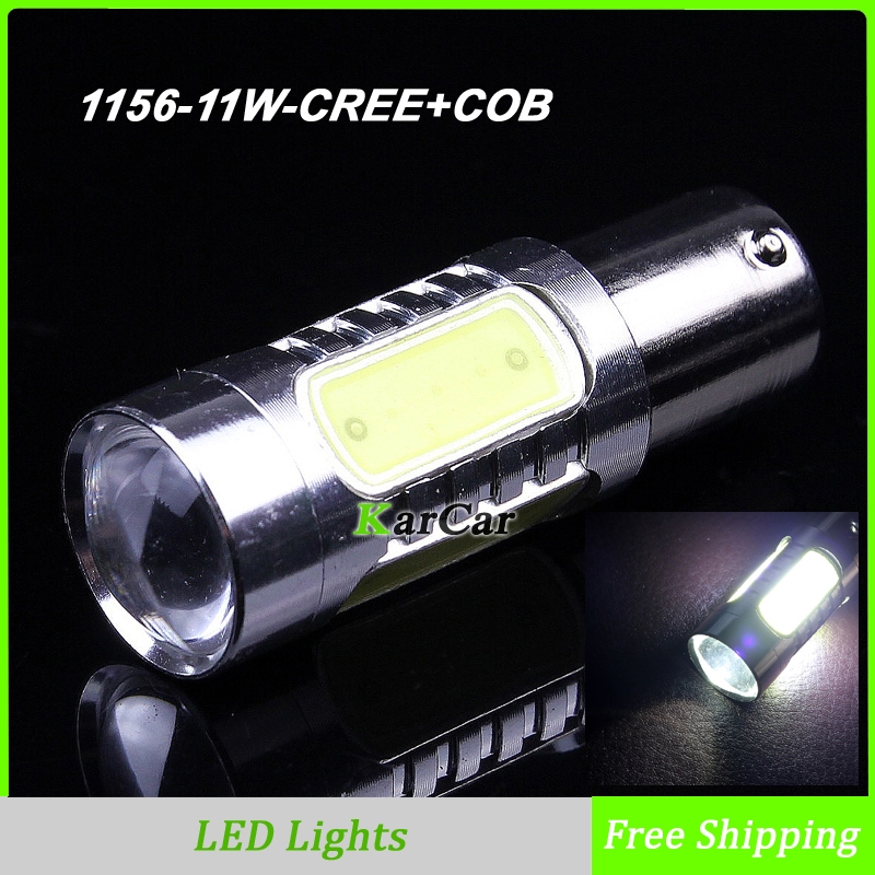 1156 BA15S 11W CREE Chip R5 + COB LED Car Turn Signal Bulb 1003 7506 Tail Lights, 12V P21W LED Reverse Lamp 1141 Brake Light r toys ba camilla 12