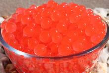 1KG Vase Filler - Water Storing Gel Beads - Makes 3 gallons hydrated of Round Pearls(China)