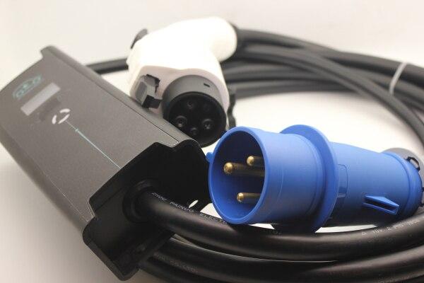 CEE 3 pin spina SAE J1772 Tipo 1 5 pins EVSE regolabile 10 16 20 24 32A con 5 M cavo per Auto Elettrica a casa Carica e spina EV