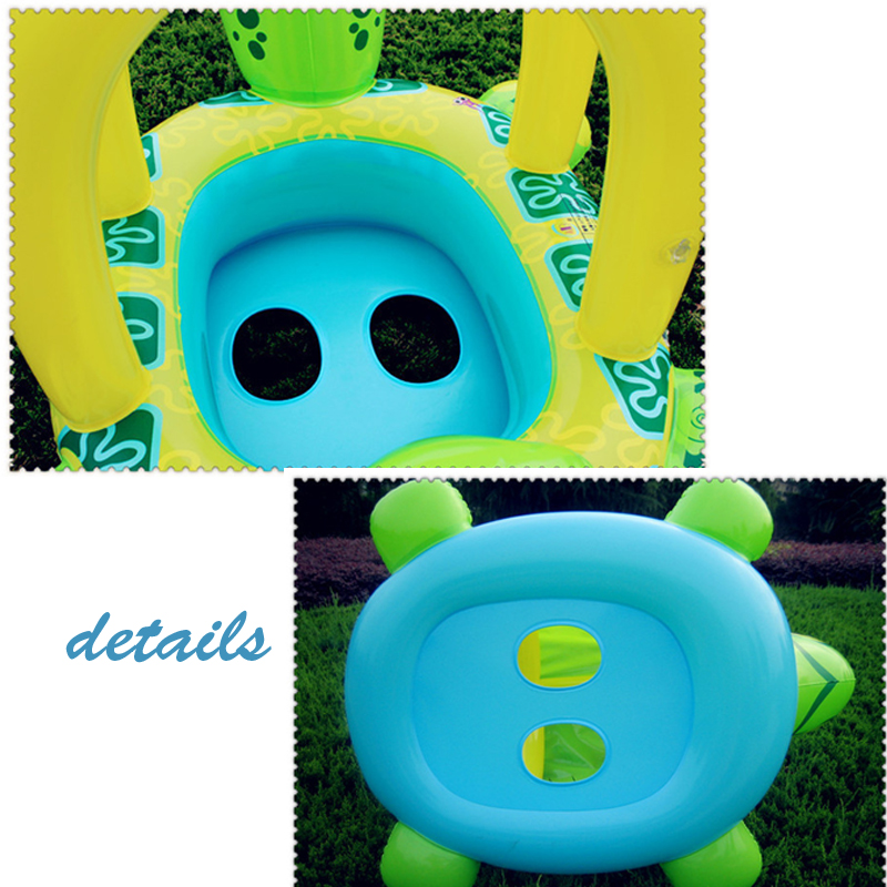 US $18.68  Tortoise Inflatable Swimming Pools Accessories Baby Plastic Kids  Children Toddler Baby Seat Float for 0 3years-in Accessories from Mother &  ...