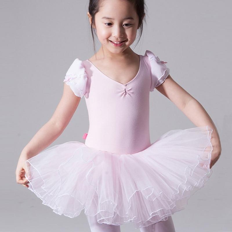 Celmia Girls Ballet Dress 2018 Children Girls Dance Clothing Kids Ballet Costumes Dance Leotard Dancewear Latin Dance Dresses