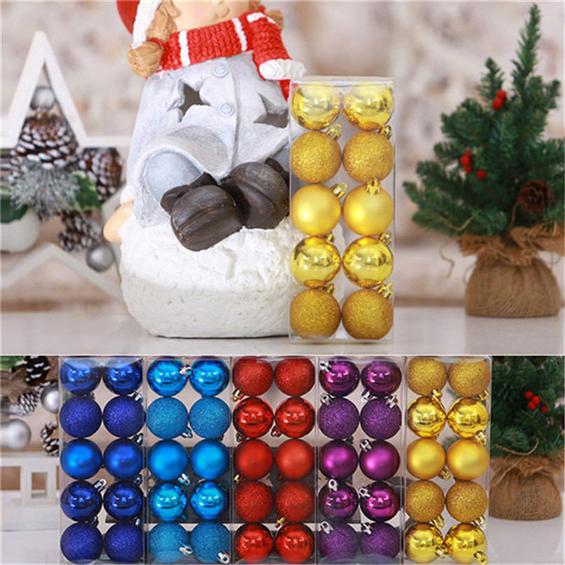 10Pcs Christmas Balls Baubles Party Xmas Tree Decorations