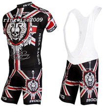 2015 NEW ROCK RACING Team cycling jersey/ clothing/ wear+shorts bib suit