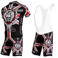 Può Mescolare Il Formato! 2015 NEW ROCK RACING Team Cycling Jersey/Respirabile Abbigliamento Ciclismo Ropa ciclismo/Quick-Dry Maglie Bici