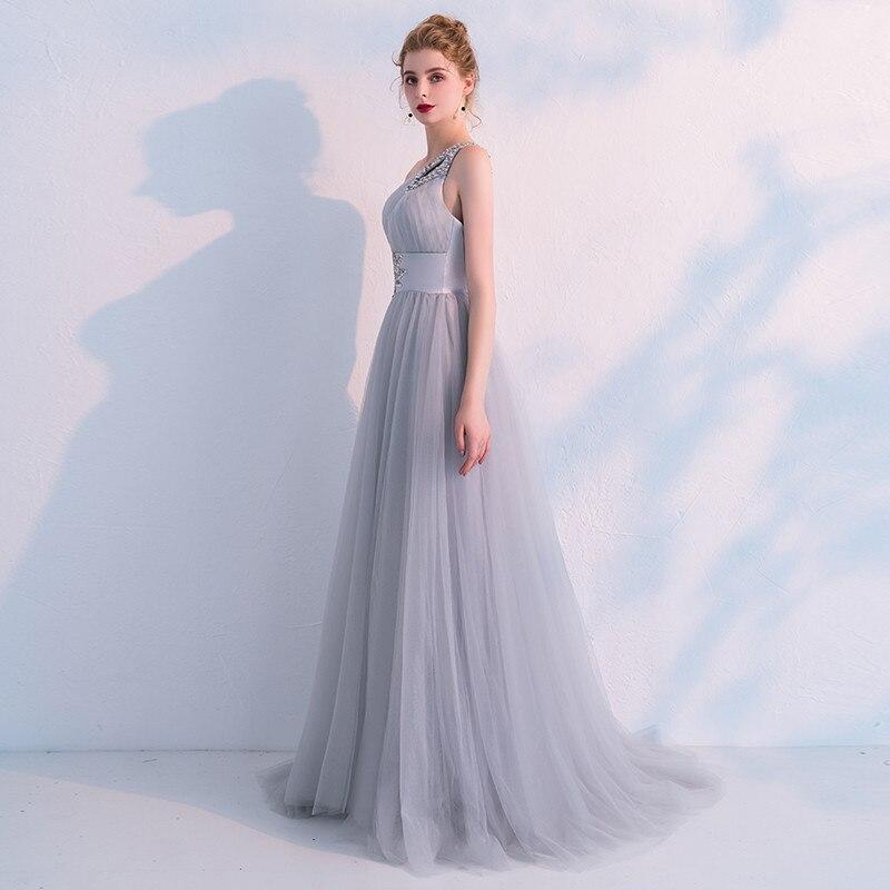 Pic Robes Soirée Une Bal As Longue Abendkleider Élégantes De Épaule Parti Tulle Sexy Cristal Robe dQshCrt