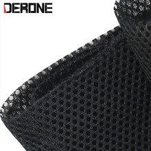 140cm * 50cm alto falante pano grade filtro tela pano de malha alto falante carro acessórios de proteção preto