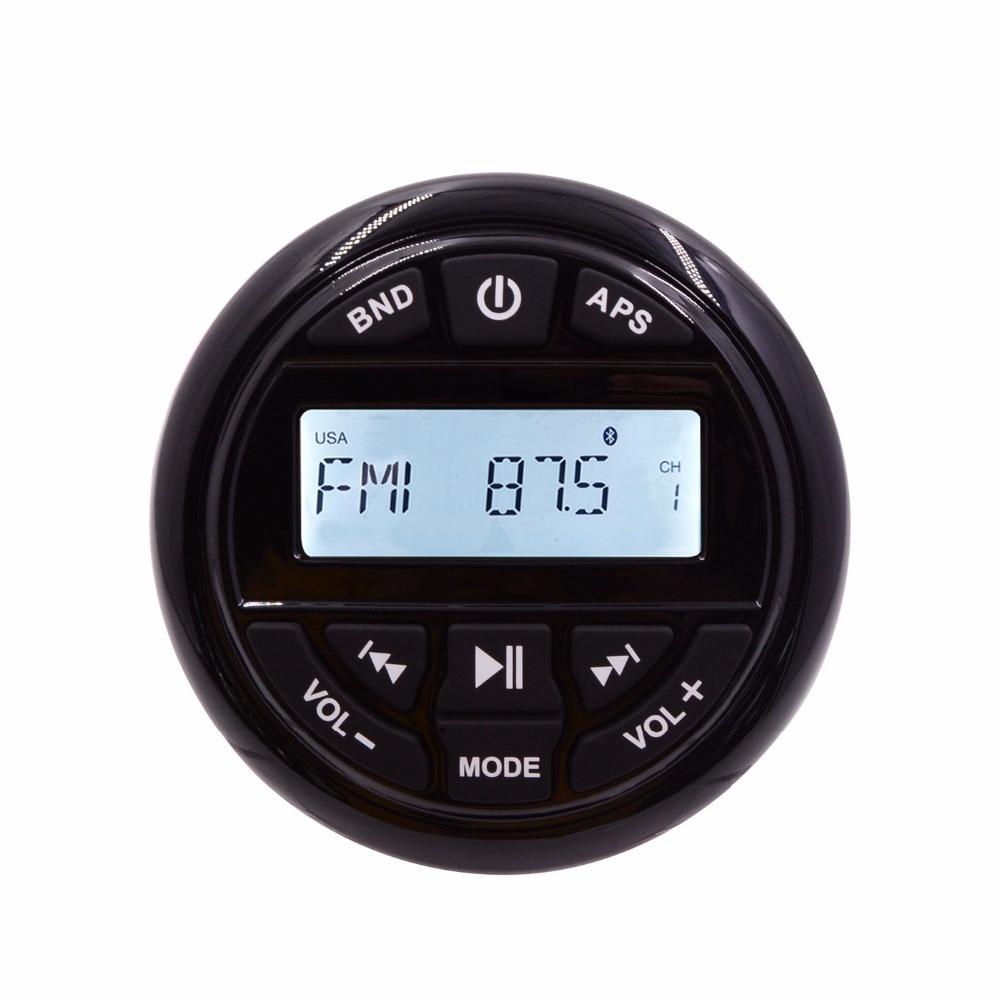 HASDA Esterna Impermeabile Marine Radio Lettore Audio FM AM Ricevitore MP3 Bluetooth Marine per Barche Yacht ATV UTV RV Trattore