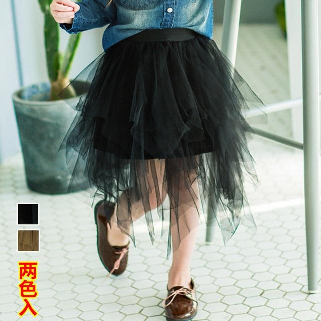 2017 spring and summer new Korean children's clothing girls net yarn skirt  short skirt baby pompry skirt free shipping