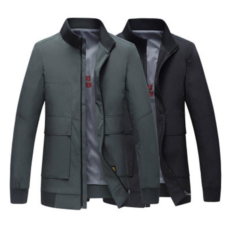 Frühling 2019 Mode männer Casual Jacke männer jacken und mäntel Business Casual Oberbekleidung herren windbreaker jacken mit Zipper - 3