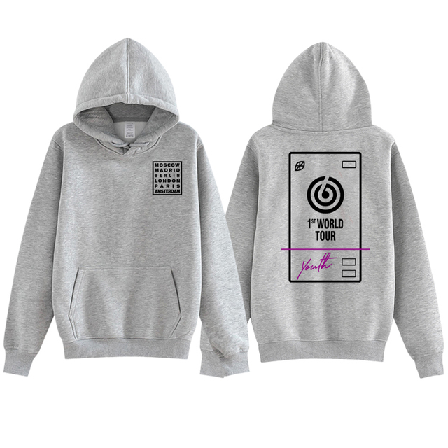 US $18 49 43% OFF|Aliexpress com : Buy New arrival kpop day6 world tour  youth in europe same printing pullover hoodies fashion unisex fleece/thin