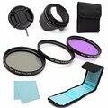 7 Шт. 52 мм UV CPL Циркулярный Поляризационный FLD Объектива Комплект Фильтров Для Canon Для Nikon Цифровые ЗЕРКАЛЬНЫЕ Фотокамеры DSLR
