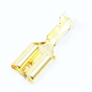 100Pcs/lot 2.8/4.8/6.3 Female Spade Cable Wire Terminals Square Insert Wire Connectors