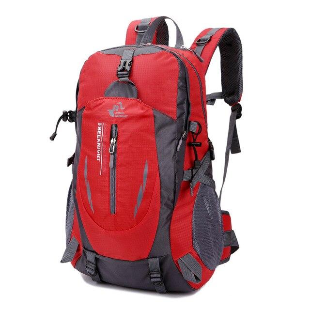 3eb6a2d2e414c Darmowa rycerz 40L torby sportowe wspinaczka kemping alpinizm plecak  sportowy na zewnątrz turystyka ultralekki plecaki dla