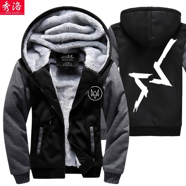 Show Luo Cartoon Watchdog Watch Dogs Sweater Coat Tide Brand Men S