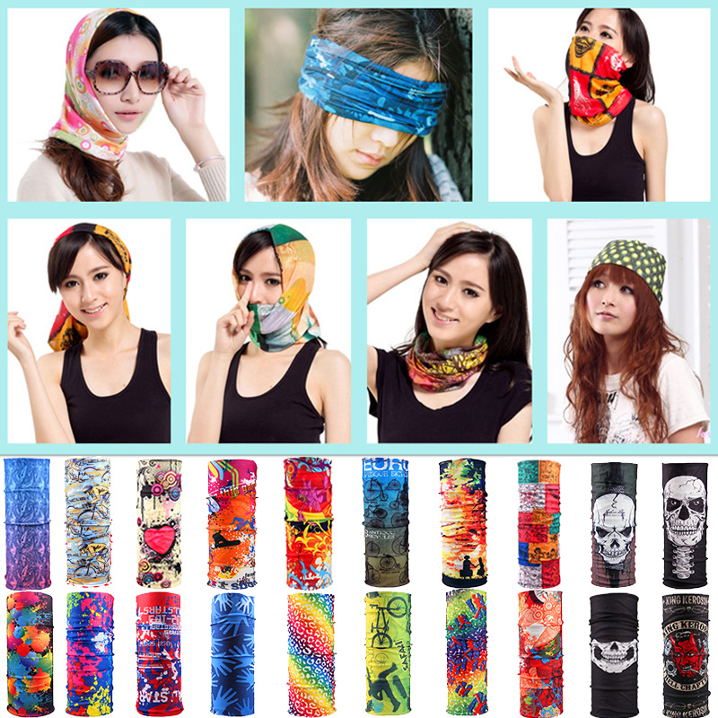 Scarf Headband Snood Head-Face-Mask Neck Motorcycle Multicolor Women Sale Magic Unisex
