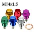 M14x1.5 perno bandeja de drenaje de aceite magnético plug para honda/acura/mazda/mitsubishi/suzuki