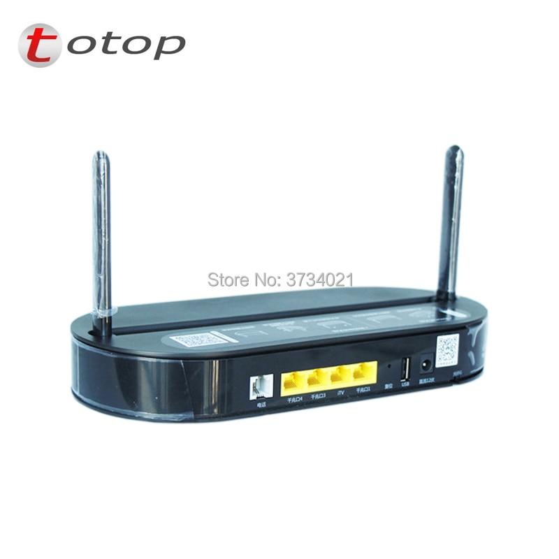 onu epon HS8145V HUA WEI EPON ONU 4GE port+1phone+2USB with 2.4G&5G dual-band WiFi,China telecom logo, English interface