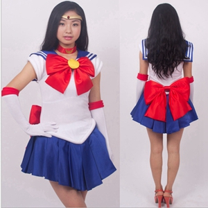 Anime The Sailor Moon Cosplay Costume Full Set Halloween Stage Party New Fashion Figure Cosplay Suit Drop Ship