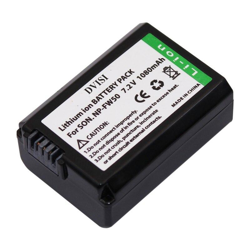 4 pz np-fw50 fw50 npfw50 batteria ricaricabile per sony alpha 7 7r ii 7 S a7R a7S II a5000 NEX-SLT-A37 DSC-RX10 RX10 II III 7SM2