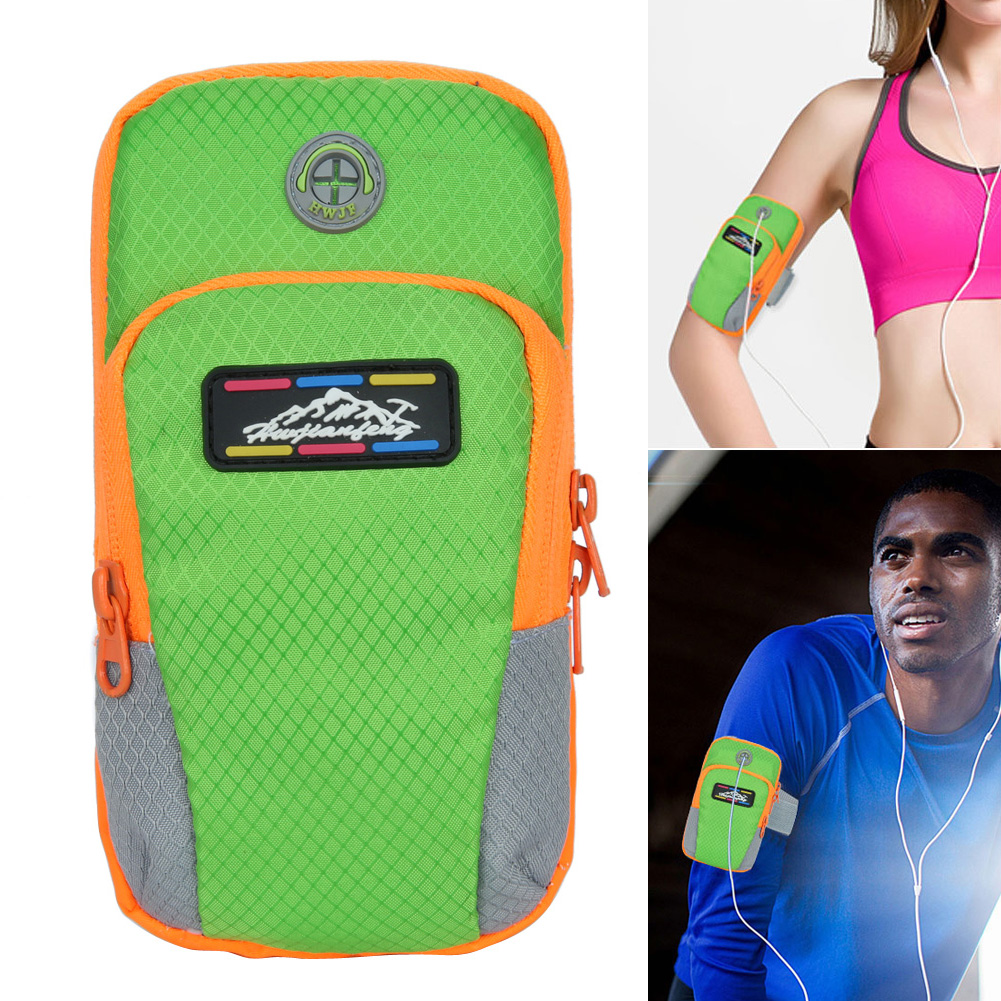 NEW Sport Arm Band Case For 6 inch Phone iPhone/Samsung/Huawei  Outdoor Waterproof Running Gym Phone Cover Coque Accessory 17