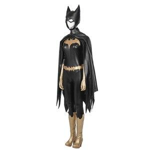 Image 3 - MANLUYUNXIAO חדש הגעה נשים תלבושות Batgirl קוספליי תלבושות ליל כל הקדושים קוספליי תלבושות עבור נשים תפור לפי מידה נשים בסיסית