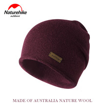 Naturehike Winter Hiking Hat Breathable Knitted Wool Hat Winter Ear Keep Warm Outdoor Hiking Camping Travel Hats For Man Women(China)