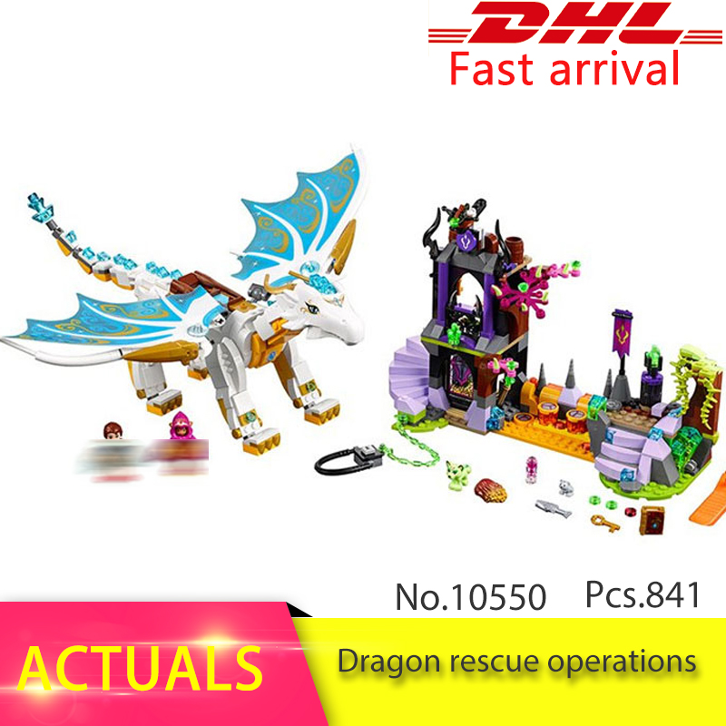 41179 Elves Long After The Rescue Cction Compatible with 10550 Building Block set Bricks  Fairy Educational Toy for Children the rescue