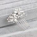 RUNSHENG European And American Fashion Bridal Hair Comb Fine Wedding Headdress Christmas Gift