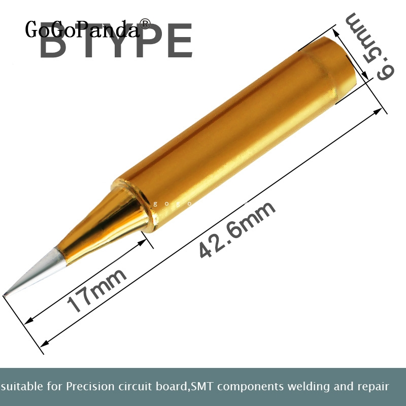 Image 3 - Free Shipping High Quality Replacement Soldering Iron Tip Leader Free Solder Tip Inner Gold Color Sold By 1 Pc-in Electric Soldering Irons from Tools