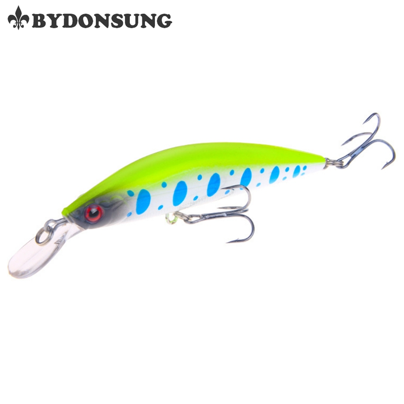 BYDONSUNG 10.5cm 25.5g Crankbait Fishing Lure Suspend Wobbler Minnow Depth Sinking Bass Pike Bait 5 colors allblue slugger 65sp professional 3d shad fishing lure 65mm 6 5g suspend wobbler minnow 0 5 1 2m bass pike bait fishing tackle