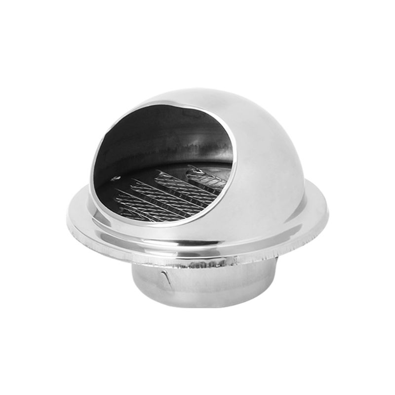 Wall Air Vent Grille Ducting Ventilation Extractor Outlet Louvres Hemisphere