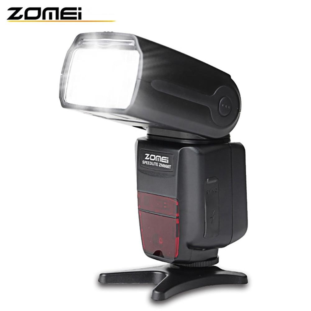 Original Zomei 860T Professional Macro Speedlight Flashlight LCD Screen for Canon Nikon