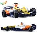 Modelo de simulación de aleación de F1 fórmula 1 Renault coche de juguete los niños juguetes de los muchachos coches de colección de regalo de Navidad