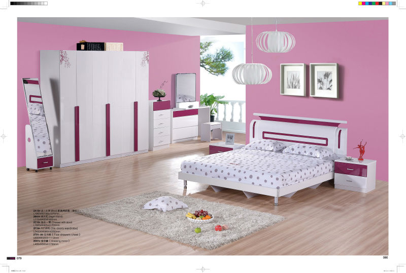 China Furniture/MDF Bedroom Set, Made of MDF-in Bedroom Sets from ...