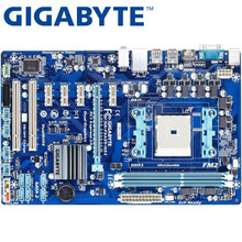 GIGABYTE GA-F2A55-DS3 Desktop Motherboard A55 Socket FM2 For AMD A10 A8 A6 A4 Athlon 32G ATX Original F2A55-DS3 Used Mainboard(China)